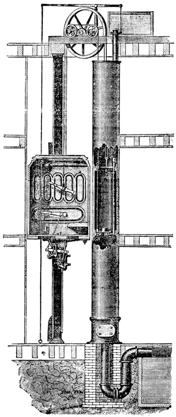 Elevator Systems Of The Eiffel Tower 1889 Robert M Vogel